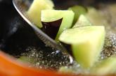 揚げナスのおろしポン酢和えの作り方1