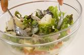 鶏ささ身のサラダの作り方3