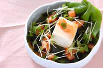 豆腐の中華風サラダ