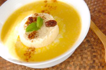 カボチャのスープデザート
