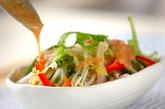 モヤシのサラダの作り方2