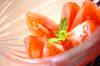 冷やしトマトの作り方の手順