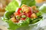 枝豆とトマトの簡単サラダ