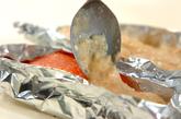 お肌しっとり☆サーモンのトロトロソース焼きの作り方2