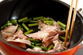 豚キム肉豆腐の作り方1