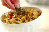 野菜たっぷり親子丼の作り方3
