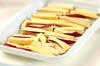 サツマイモの豚肉巻きの作り方の手順1