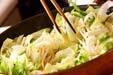 具だくさん野菜炒めの作り方8