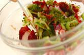 ゴーヤとタコの梅肉和えの作り方4