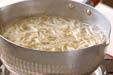 タコとモヤシの酢の物の下準備3