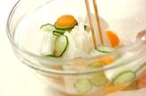 大根のピリ辛甘酢漬けの作り方2