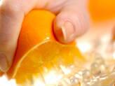オレンジ・チョコの下準備2