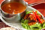 トマトチキンカレー&タンドリーチキンサラダ