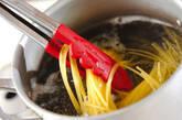 豚トロのペペロンチーニの作り方2