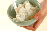 麦ご飯の作り方2