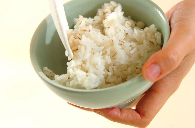 麦ご飯の作り方の手順2