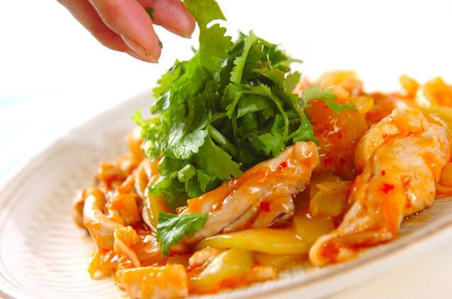 鶏肉の豆板醤炒めの作り方の手順9