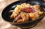 鶏肉とミョウガの煮物