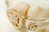 レンコンのハーブ炒めの作り方1