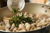 レンコンのハーブ炒めの作り方の手順3