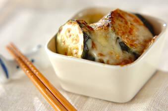 ズッキーニのみそチーズ焼き