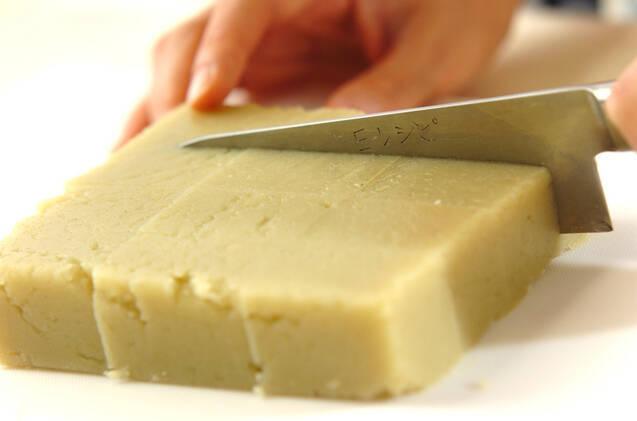 サツマイモようかん<卵・乳製品・小麦粉不使用>の作り方の手順4