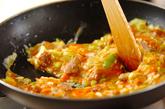 豚肉入り中華風卵焼きの作り方3