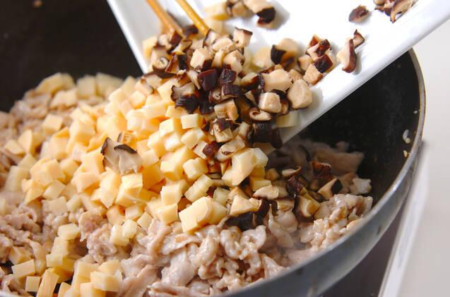 豚肉のレタス包みの作り方の手順8
