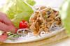 豚肉のレタス包みの作り方の手順10