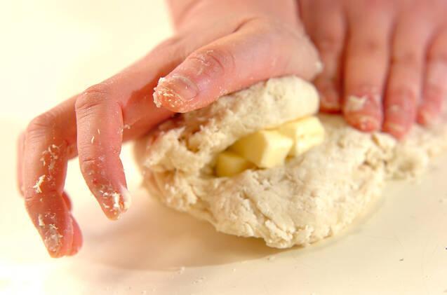 懐かしい給食の揚げパンの作り方の手順5