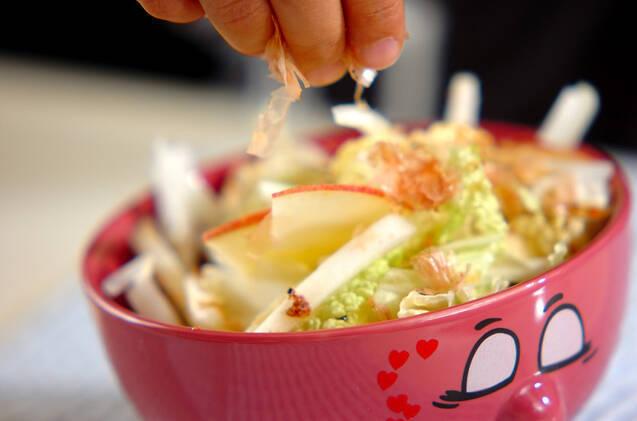 白菜サラダの作り方の手順5