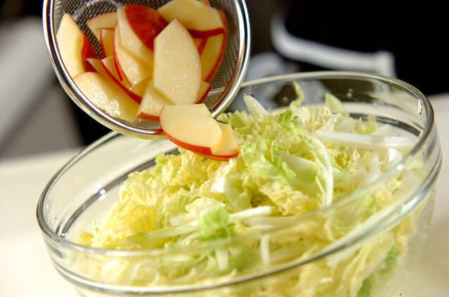 白菜サラダの作り方の手順3