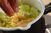 春キャベツの煮物の作り方の手順2