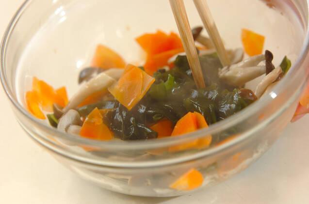 ワカメの酢の物の作り方の手順6
