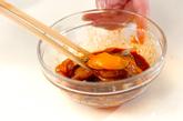 アジ丼の作り方3