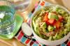 アボカドとツナの丼の作り方の手順