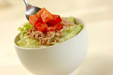 アボカドとツナの丼の作り方3