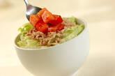 アボカドとツナの丼の作り方5