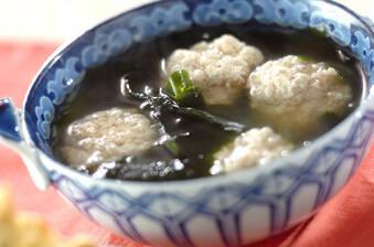 豆腐団子のスープ