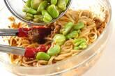 ソラ豆とサバのみそパスタの作り方6