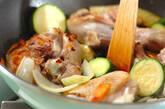 クスクス・鶏肉のトマト煮込みソースの作り方2