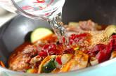 クスクス・鶏肉のトマト煮込みソースの作り方3