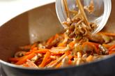 細切り豚のザーサイ炒めの作り方4