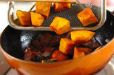 揚げカボチャのガーリックオイル和えの作り方2