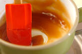 豆腐白玉の甘じょうゆダレの作り方3