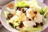 レタスと梨のサラダの作り方の手順