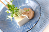 豆腐の納豆マヨのせの作り方1