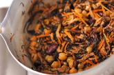 芽ヒジキと豆の煮物の作り方3