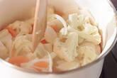 野菜のポタージュスープの作り方2