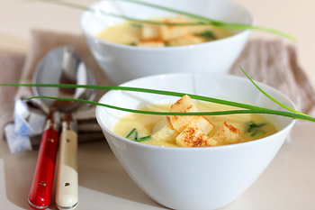 野菜のポタージュスープ